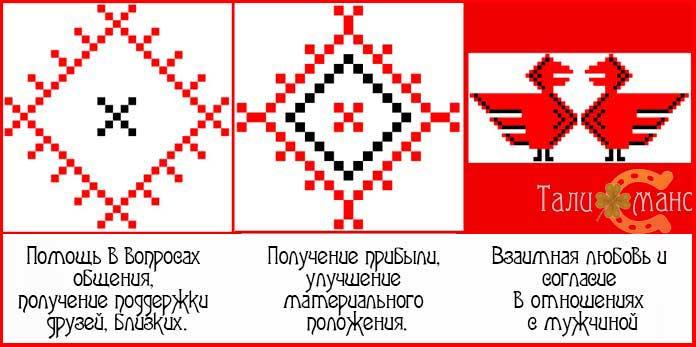 Символы Берегини на богатство